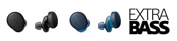 圖2) WF-XB700提供全新黑、藍兩色,小巧機身集結了獨家優質特點,輕便攜帶音樂隨行不受限。.jpg