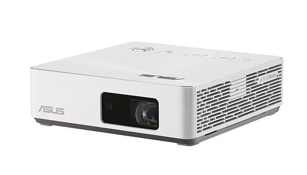 ASUS ZenBeam S2推出珍珠白新色,不論是一公尺內的短焦投影,抑或大螢幕的居家視界需求,皆能盡享劇院級視聽娛樂饗宴。.jpg
