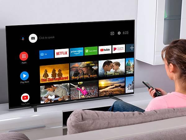 圖4) 全新4K HDR BRAVIA液晶電視系列內建Android TV 智慧電視系統,並以直覺快速的操作規格獲得2020 Netflix推薦電視認證,同時支援Apple Airplay 2 及HomeKit,提供廣大使用者快速啟動便利的影音內容與服務。.jpg