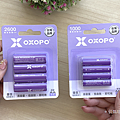 OXOPO 超高容量低自放 XN 系列鎳氫充電電池三號四號開箱 (俏媽咪玩3C) (2).png