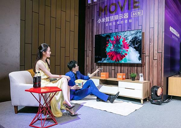 小米智慧顯示器 65型提供用戶豐富的4K影音娛樂內容,預載Netflix、YouTube、遠傳friDay影音、KKTV、LiTV 立視線上影視、CATCHPLAY+等多個影音串流平台.jpg