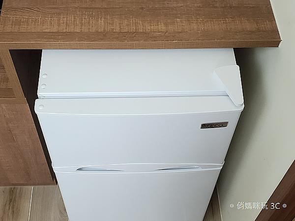 東元 TECO 100 公升雙門冰箱  R1001W 開箱 (俏媽咪玩3C) (37).png