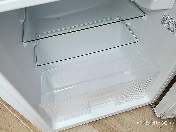 東元 TECO 100 公升雙門冰箱  R1001W 開箱 (俏媽咪玩3C) (13).png