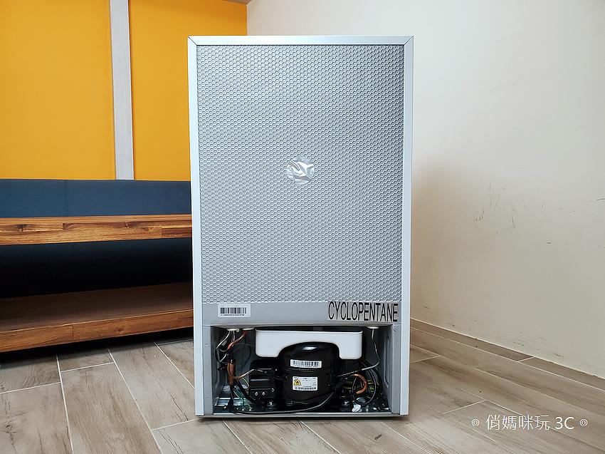 東元 TECO 100 公升雙門冰箱  R1001W 開箱 (俏媽咪玩3C) (21).png