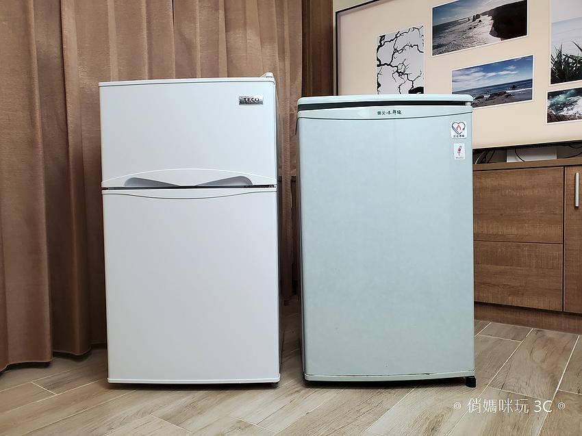 東元 TECO 100 公升雙門冰箱  R1001W 開箱 (俏媽咪玩3C) (27).png