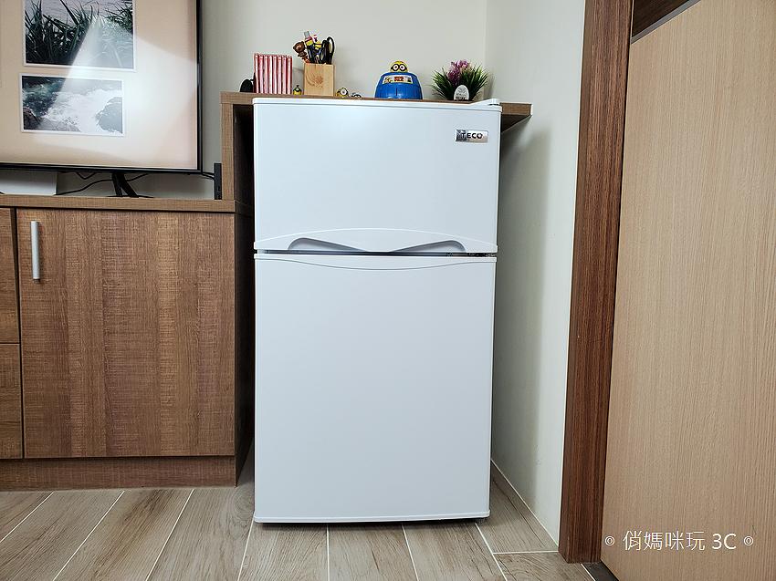 東元 TECO 100 公升雙門冰箱  R1001W 開箱 (俏媽咪玩3C) (29).png