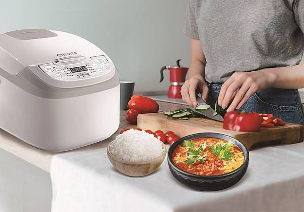 08-奇美微電腦電子鍋擁有4組米飯烹煮模式及3種米飯口感,精準設定滿足不同挑剔味蕾,即使只煮一杯米也能美味好吃.jpg