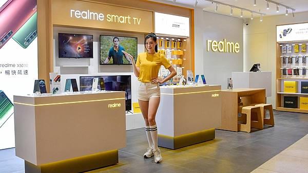 realme三創品牌專櫃位於三創生活園區二樓,於11月14日正式試營運。.jpg