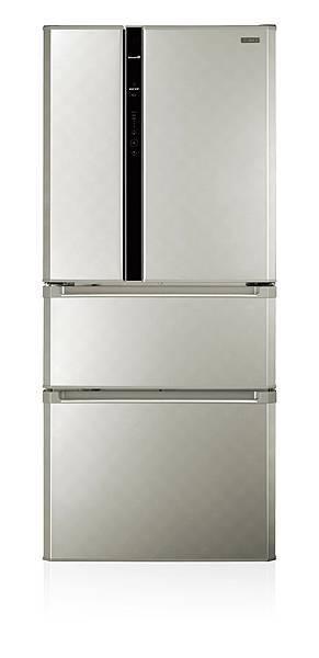 1-CHIMEI奇美鮮靜美電冰箱(四門:UR-P61VD8)輕鬆收納大量食材,新春筵席大展廚藝有面子,更能留住美味健康有裡子。建議售價:$37900.jpg