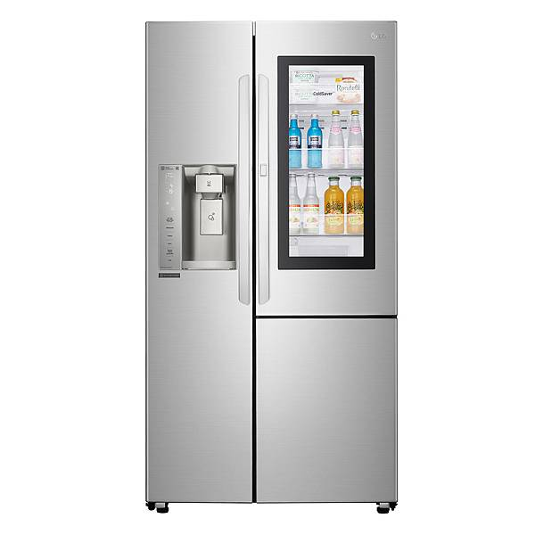 07 - LG InstaView™ 敲敲看門中門冰箱門中門的特殊設計,只需輕敲玻璃兩下,即可一覽冰箱內部儲存的食材,有效減少開關門造成的冷流外洩,達到節能效果。.jpg
