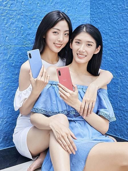 圖說一、Sony Mobile萬元防水夜拍機Xperia 10 III 繽紛在台上市,將於明日(0527)在台上市開賣!(2).jpg