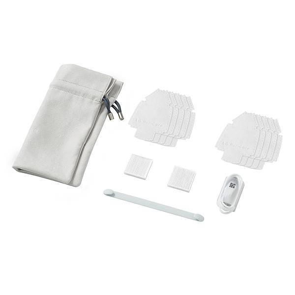 09-LG PuriCare口罩型空氣清淨機第二代與第一代都可替換濾網、襯墊耗材,矽膠面罩可水洗或以酒精擦拭,隨時保持機器潔淨,使用時也能安心無虞。.jpg
