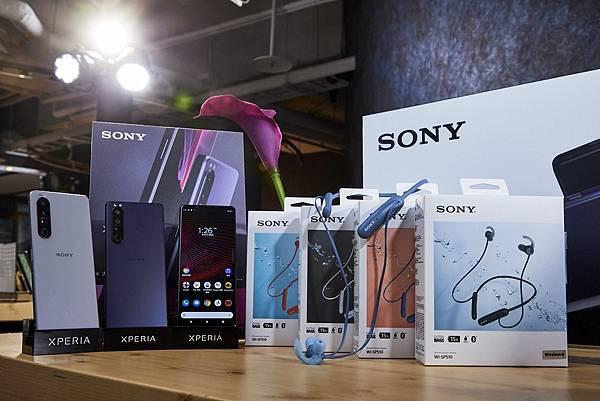圖說二、即日起至9月底,至Sony Mobile專賣店選購Xperia 1 III,藍牙耳機、超特別加碼配件購物金帶回家.jpg