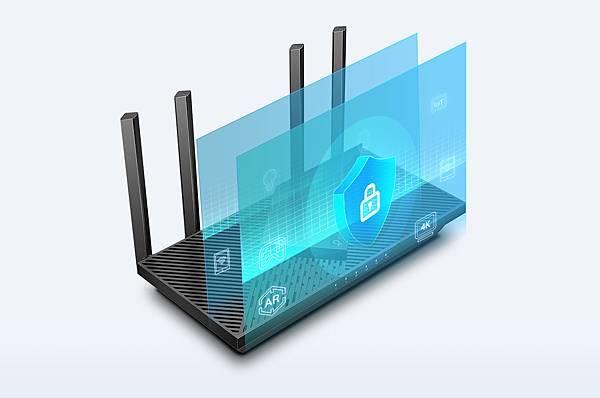 最新的Wi-Fi安全協定WPA3,帶來個人網路全新改善網路安全的能力,除了更安全的加密Wi-Fi密碼,也能防止暴力攻擊,保障家庭Wi-Fi安全。.jpg