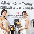 LG A9 T系列All-in-One濕拖無線吸塵器,配有充電座及可替換顆電池,長效續航雙電池提高清潔效率,續航力長達120分鐘。.jpg