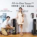 LG A9 T系列All-in-One濕拖無線吸塵器,獨家自動除塵科技 3道過濾及2小時UVC LED 紫外線殺菌 灰塵自動清潔不沾手 完美防護好安心。.jpg