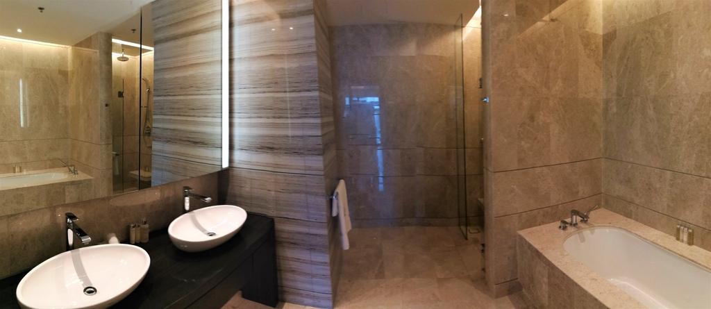 大馬住宅不流行浴缸 浴室卻都有雙洗手台