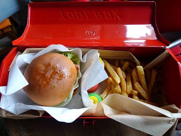 漢堡是用工具盒
