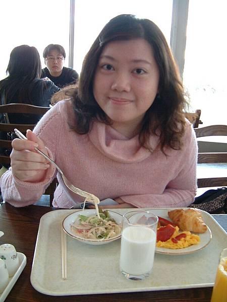 吃早餐^^