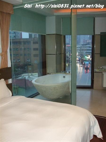 透明滴浴室