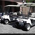 接送Villa區房客用之高爾夫球車