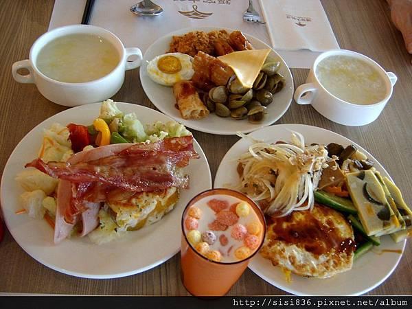 飯店之豐盛早餐1