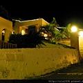夜間之Villa客房區