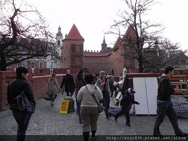 華沙古城區