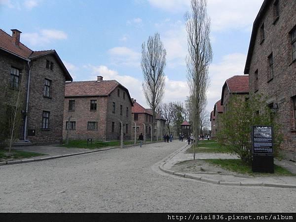 寧靜的奧斯威辛集中營…
