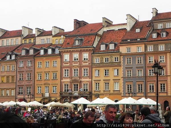華沙-中古世紀建築