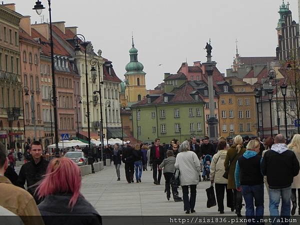 華沙-老城廣場