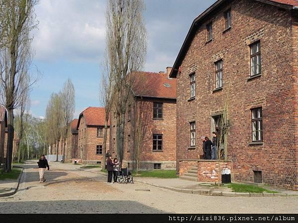 奧斯威辛集中營的房舍