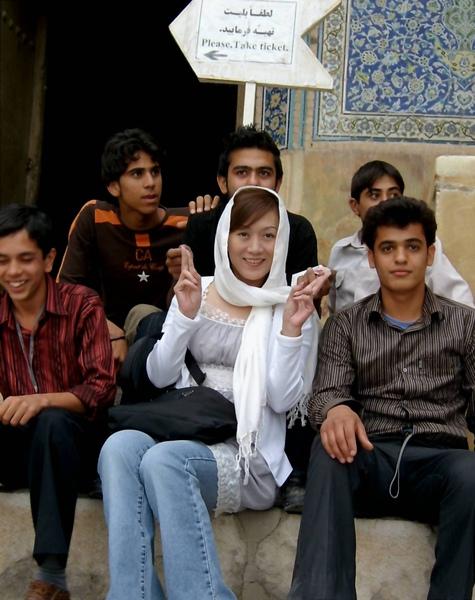伊朗的可愛大男生
