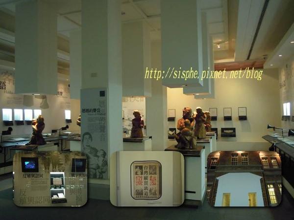 台灣文學館各種陳列.jpg