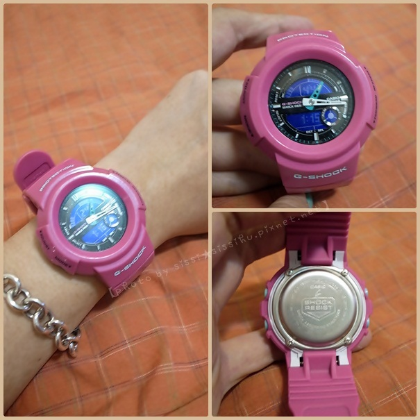 CASIO G-SHOCK Crazy Colors The G 強力復刻 AW-582SC-4A 潮流桃紅