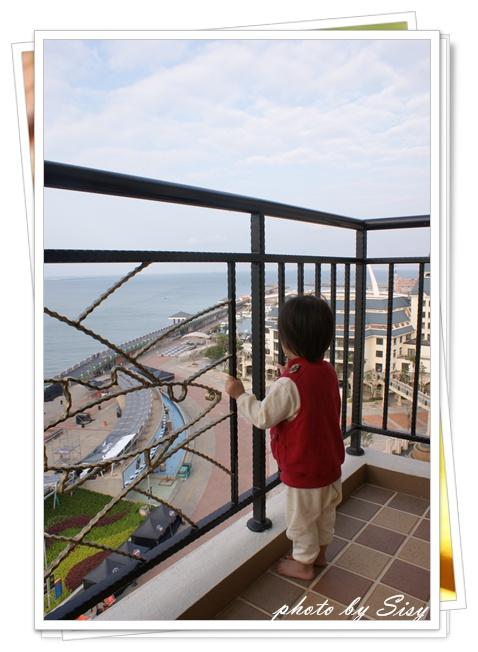 淡水漁人碼頭福容大飯店海景和式雙人房