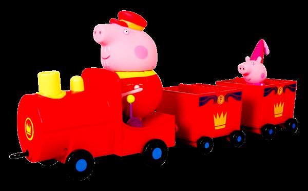 P5(廠商賣品)-伯寶行-粉紅豬小妹皇家火車組