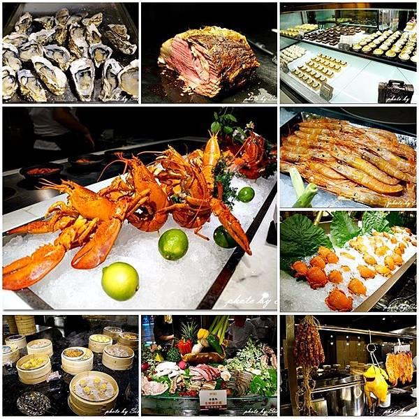 大直典華幸福機購豐FOOD。海鮮百匯餐廳。