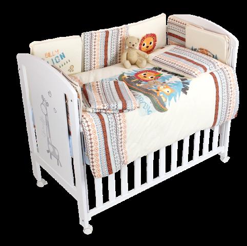 P1(廠商賣品)小丁婦幼-MICUNA西班牙原裝嬰兒床- DOLCE LUCE(時尚育兒超值組)