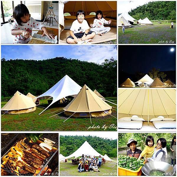 趣吧tripbaa宜蘭夢幻露營東風有機休閒農場