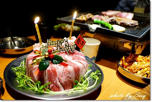 娘子韓食韓式八色烤肉燒肉蛋糕