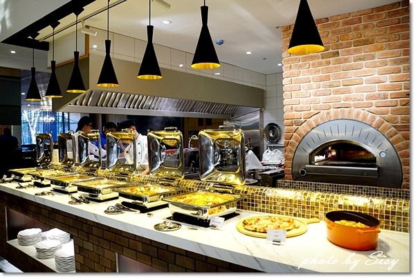 城食百匯自助餐廳buffet台南夏都城旅安平館