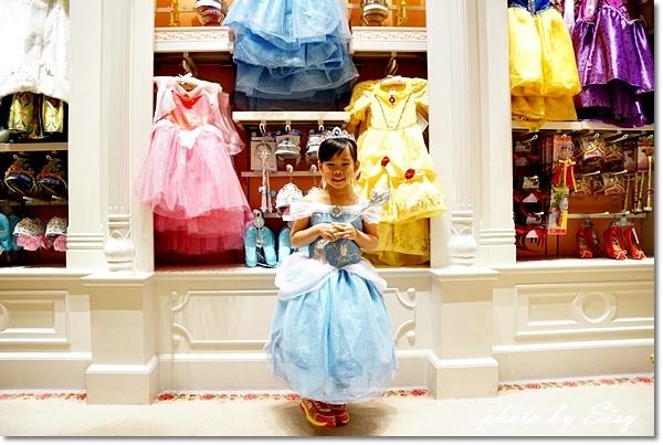 香港迪士尼樂園酒店魔法化妝廳神仙教母公主體驗