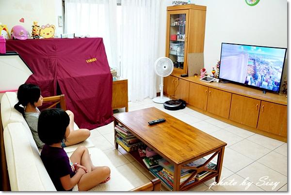 50吋SHARP夏普4K智慧連網液晶顯示器液晶電視開箱團購