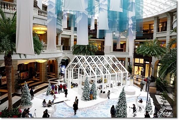 Bellavita貴婦百貨寶麗廣場聖誕佈置