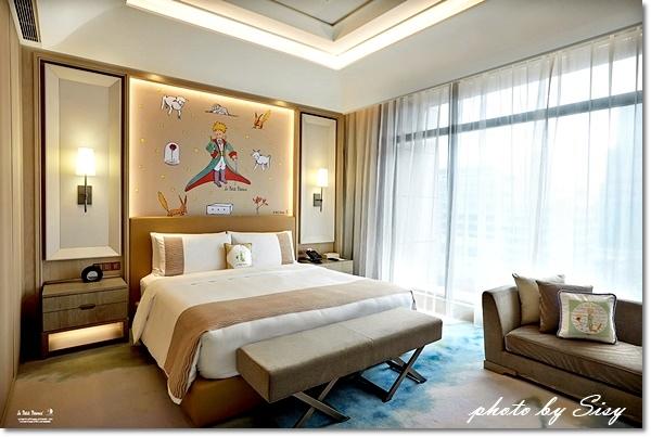 台北美福大飯店_小王子住房專案_行政客房