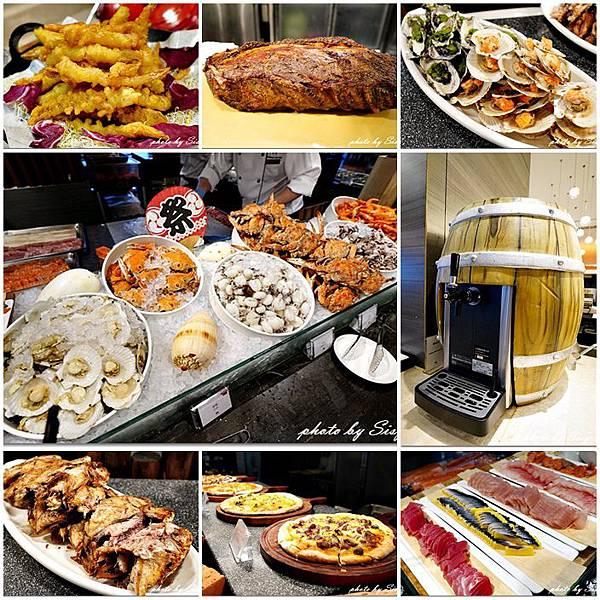 台北凱達百宴自助餐廳Metro Buffet