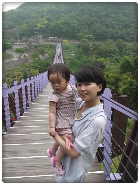 台北內湖白石湖吊橋風景區