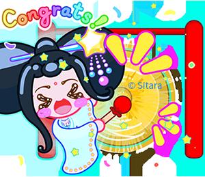 《來自Sitara的新春古錐女孩卡哇伊貼圖》 by Sitara