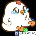 LINE - 20170110《Q彈麻糬黑白雞 - 雞言鳥語(新年實用動動貼)》上架公告。(ゝ∀・) | <White Chick & Black Bird(Animation)>